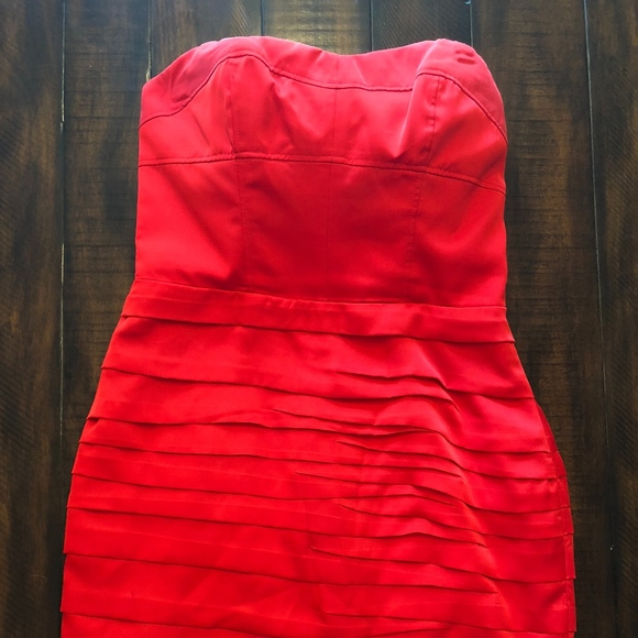 1f9c49855234 NWT Red Satin Strapless Dress Express. Express. M 5b5653972beb79e7df22e2e2.  M 5b565397a31c335eb34082a4. M 5b565397534ef999ba565891